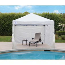 10' PEAK, SUNSHADE WALLS, TAFFETA, WHITE